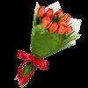 Фото товара 11 розовых тюльпанов в Покровске