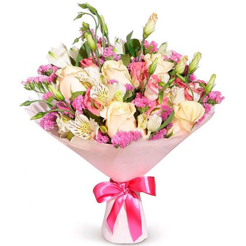 """Букет """"Нечто чудесное"""" микс цветов"""