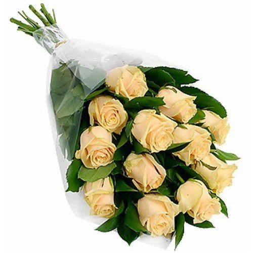 Фото товара 11 кремовых роз в Покровске