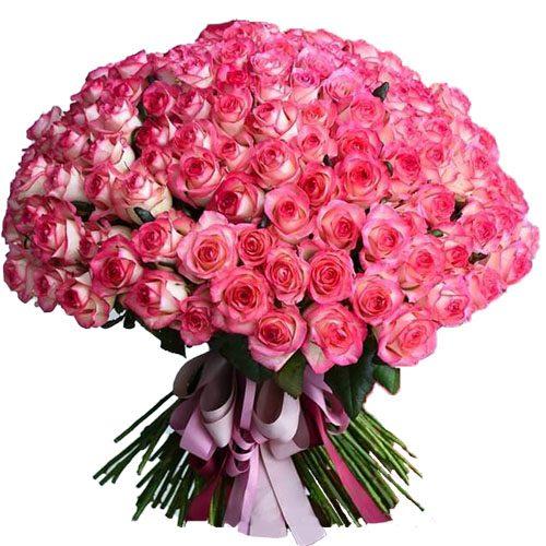 """Фото товара 101 роза """"Джумилия"""" в Покровске"""