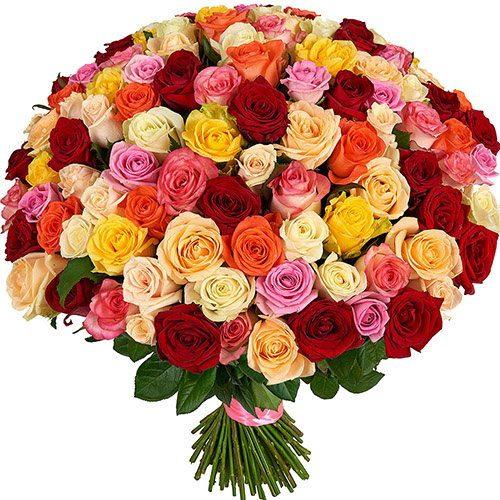 Фото товара 101 роза микс в Покровске