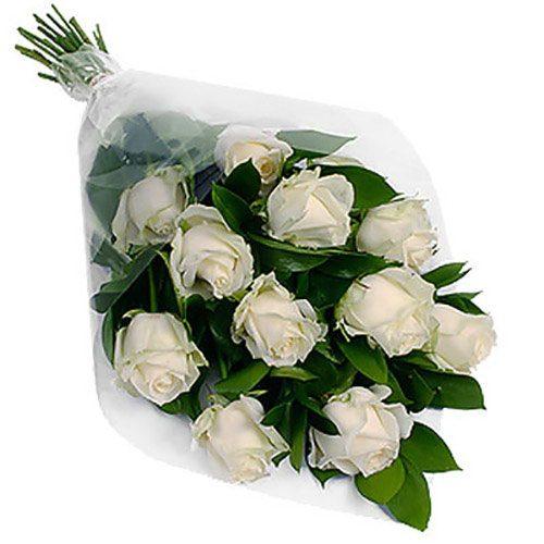 Фото товара 11 белых роз в Покровске