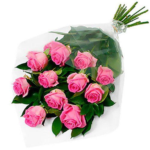 """Фото товара 11 роз """"Аква"""" в Покровске"""