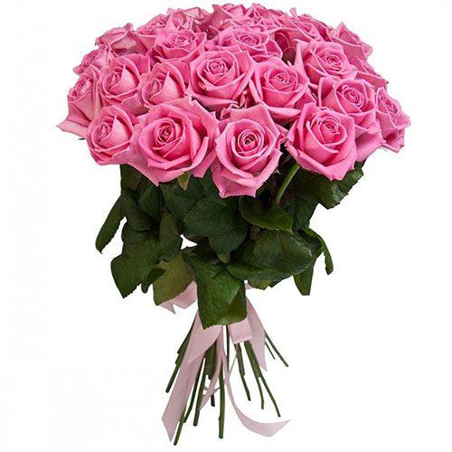 """Фото товара 25 роз """"Аква"""" в Покровске"""