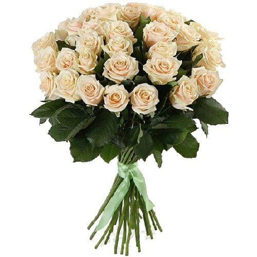 Фото товара 33 кремовые розы в Покровске
