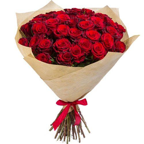 Фото товара 35 красных роз в Покровске