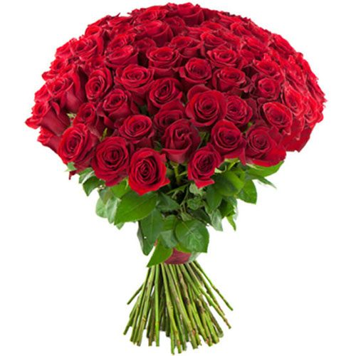 Фото товара 75 красных роз в Покровске
