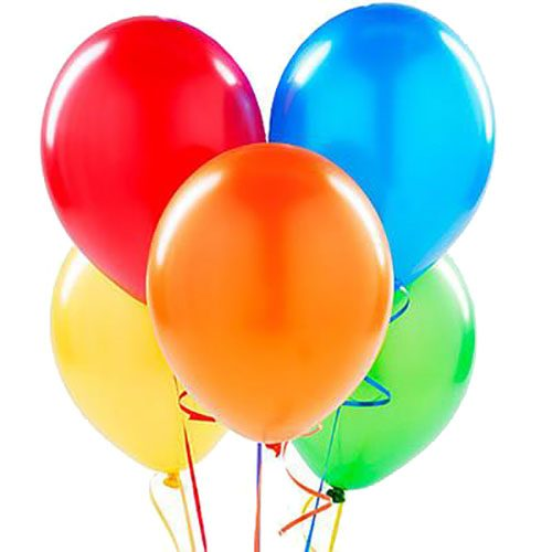 Фото товара 5 воздушных шаров в Покровске