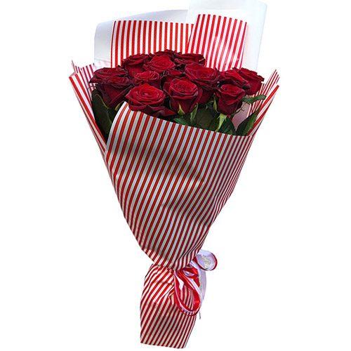 Фото товара 15 красных роз в Покровске